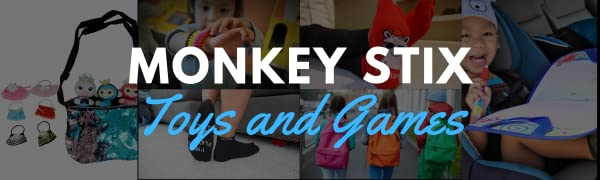 Monkey Stix Toys and Games