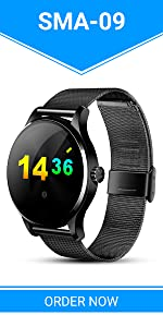 Amazon.com: SMA-M1 Built-in GPS Sport Smart Watch Activity ...