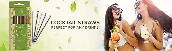 Casadorna Cocktail Straws