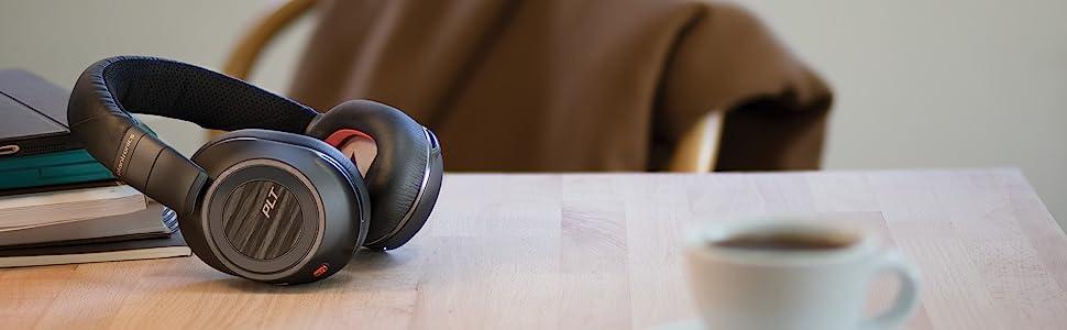 bluetooth headset wireless microphone plantronics usb webcam case noise canceling voyager headphones