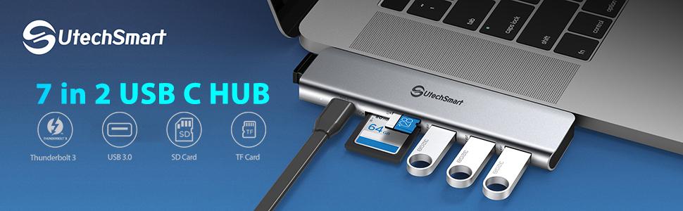 7 in 2 USB C HUB
