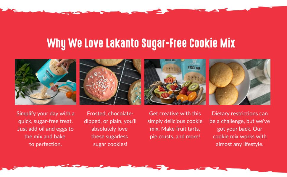 lakanto, sugar-free, dessert, cookies, healthy