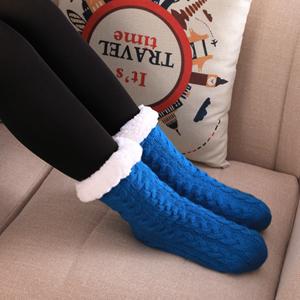 Fuzzy Slipper Socks