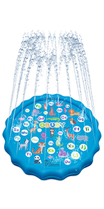 kids outdoor toys /splash pad