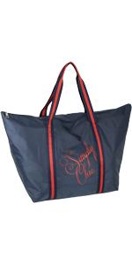 Damen Shopper große Freizeittasche für Frauen Blau Navy Marineblau