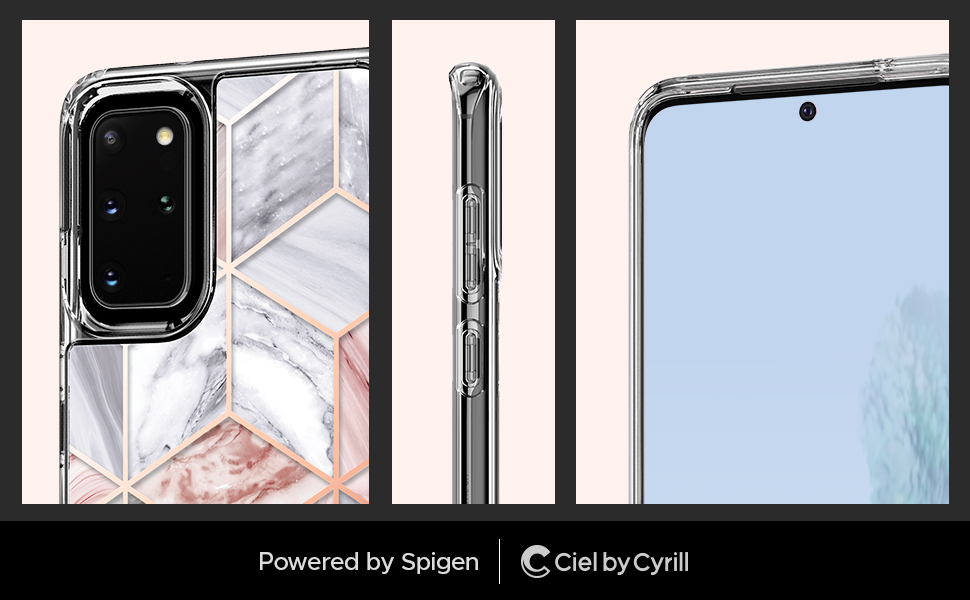 Cecile Series Cecile Crystal for Galaxy S20 Plus