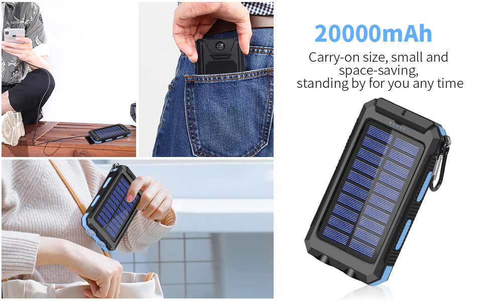 solor charger power bank
