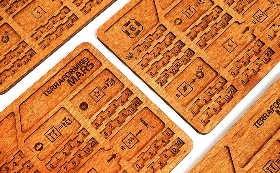 terraforming mars accessories, strategy board game, board game accessories, broken token organizer,
