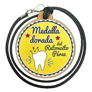 FANS & Friends Caja para dientes de leche con medalla para niños y niñas, e-book gratis incluido, Caja para guardar los dientes de bebés, Ratoncito Pérez, color: azul: Amazon.es: Bebé