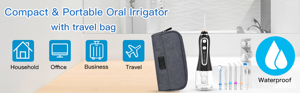 taşınabilir oral irrigatör