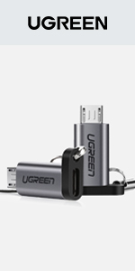 UGREEN Adapter USB C to Micro USB 2 Pack