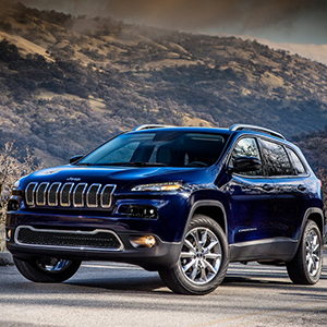 Gloss Front Grille Grill Inserts for 2014-2018 Jeep Cherokee
