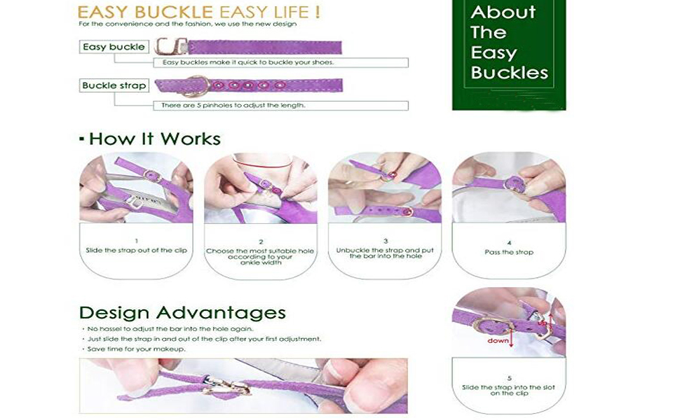 how to use the buckle