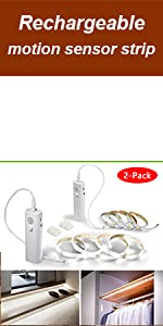 LED strip lights rechargeable