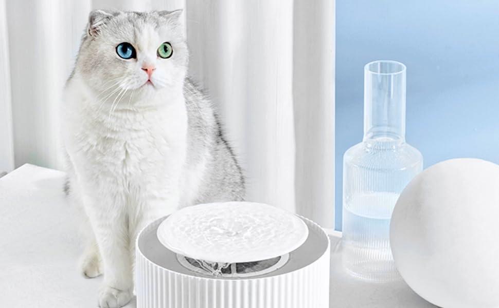 Furrytail Cat water fountain