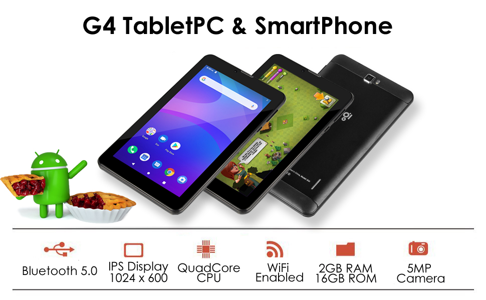 Android Pie TabletPC & SmartPhone
