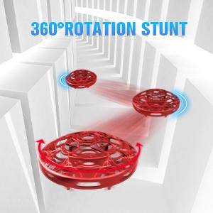 360° ratation stunt
