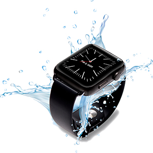 water resistant smartwatch, senior smartwatch, shower safe, medical alert shower safe, bath safe sos