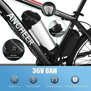 8ah battery ebike