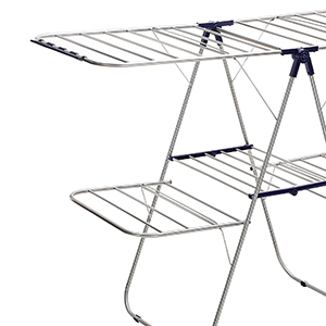 Wing Laundry Rack with 2 Levels