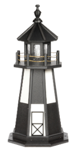 3 foot cape henry replica poly lighthouse