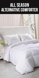 All Season Comforter - Soft Down Alternative Comforter