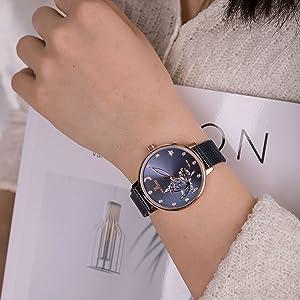 women blue watch