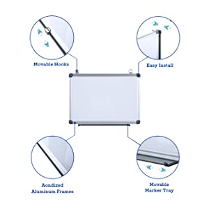 Professional Quality Magnetic Whiteboard