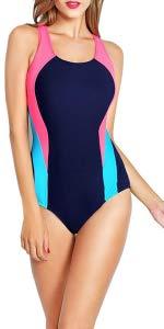 Womens Training Sports Bathing Suit
