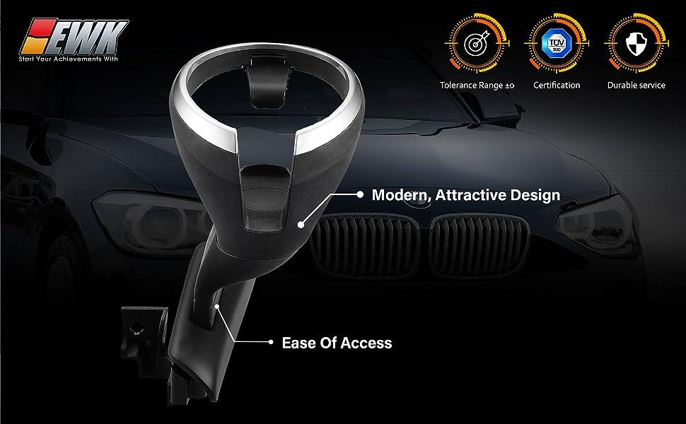 Retrofit Removable Cup Holder Assembly Kit For BMW 128i 135i X1 E82 E84 E88