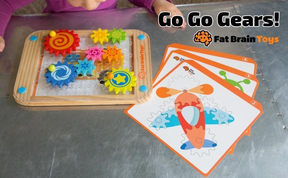 Fat Brain Toys Go Go Gears!