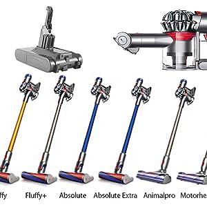 4000mAh大容量 高品質セル搭載 dyson 21.6V 掃除機 Fluffy/Fluffy+/Absolute/Absolute Extra/Animalpro Motorhead 対応 長寿命