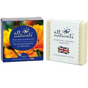 Nourishing Chamomile Calendula bar soap little flower company birthday gifts for women gift basket