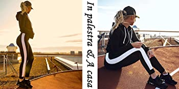 Perfetto per yoga, barre, corsi, corsa, ballo, esercizio fisico, fitness