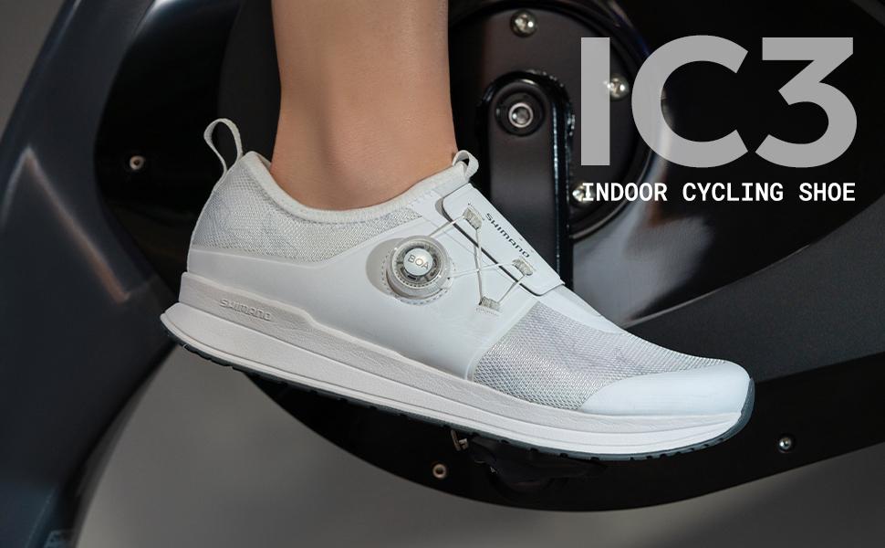 SHIMANO SH-IC300 Confidence Inspiring Indoor Cycling Shoe