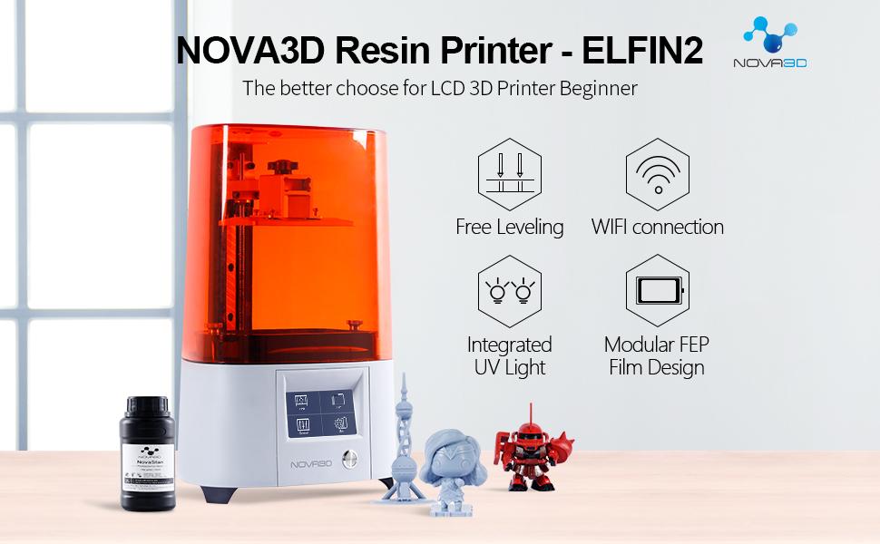 NOVA3D Resin Drucker ELFIN2