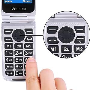 big button, use-friendly for senior