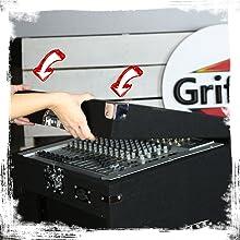 audio rack case