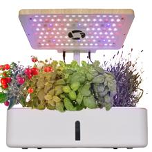 Hydroponics Growing System Kit w/LED Plant Grow Light