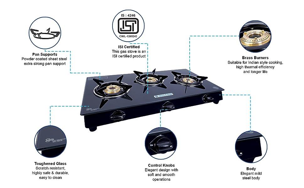 3 burner gas stove with induction bottom, 3 burner stainless steel gas stove, gas stove 3 burner