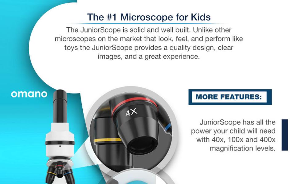 JuniorScope Microscope for Kids