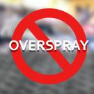 Less Overspray