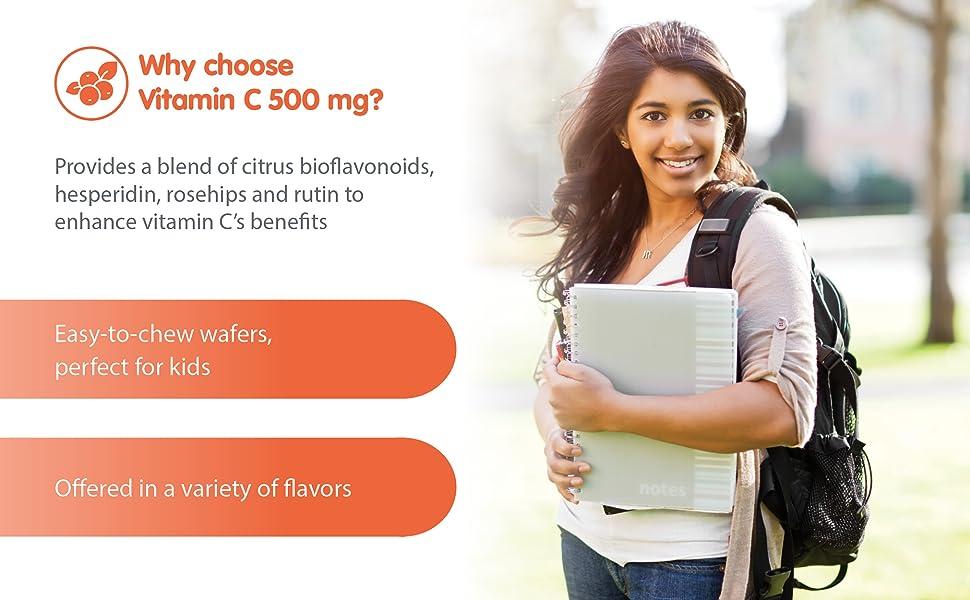 Provides a blend of citrus bioflavonoids, hesperidin, rosehips and rutin