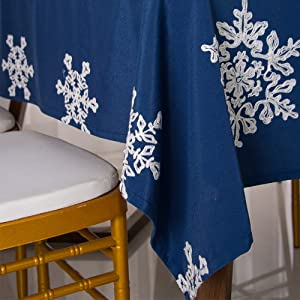 Christmas Rectangle Table Cloth