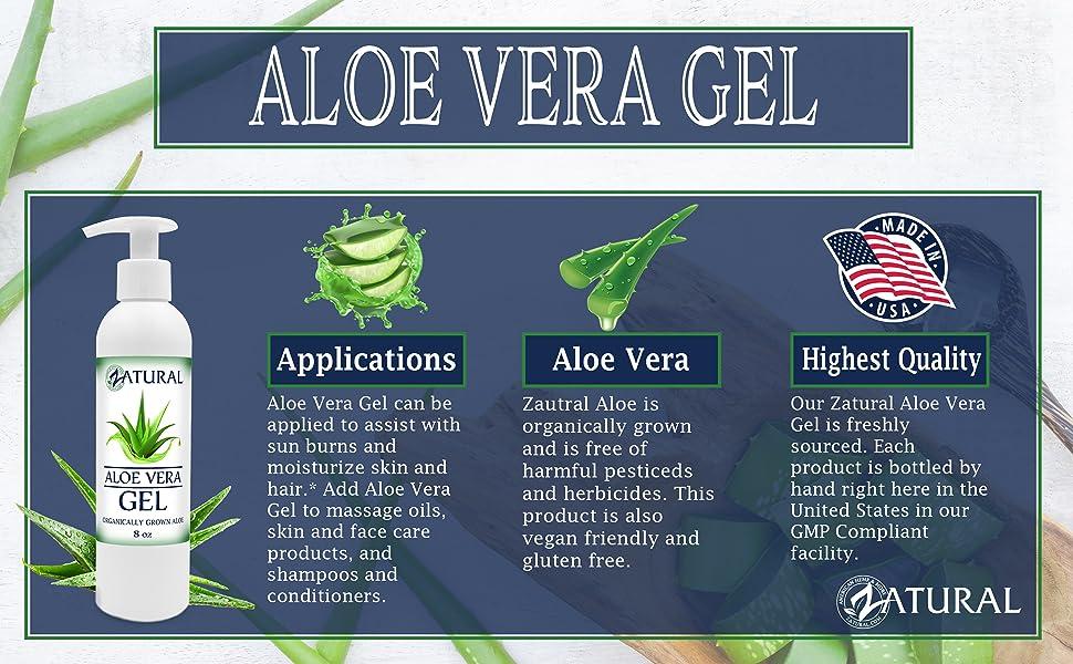 Aloe Vera Gel uses