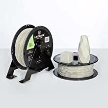 abs filament can not only print 3d models, but also print real working products and prototypes alike