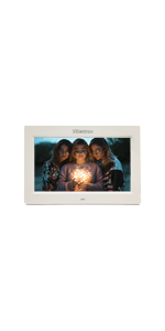10 inch digital photo frame, white photo frame, dpf , DPF, Xelectron, gift, IPS screen