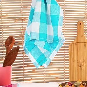 buffalo checked dish towels set of 3