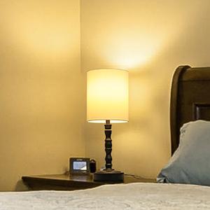 LED nightstand lamp