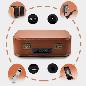 multifunctional record player